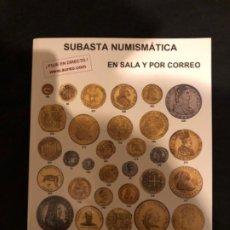 Catálogos y Libros de Monedas: CATÁLOGO SUBASTA NUMISMATICA AUREO Y CALICÓ 30 MAYO 2012. Lote 191301450