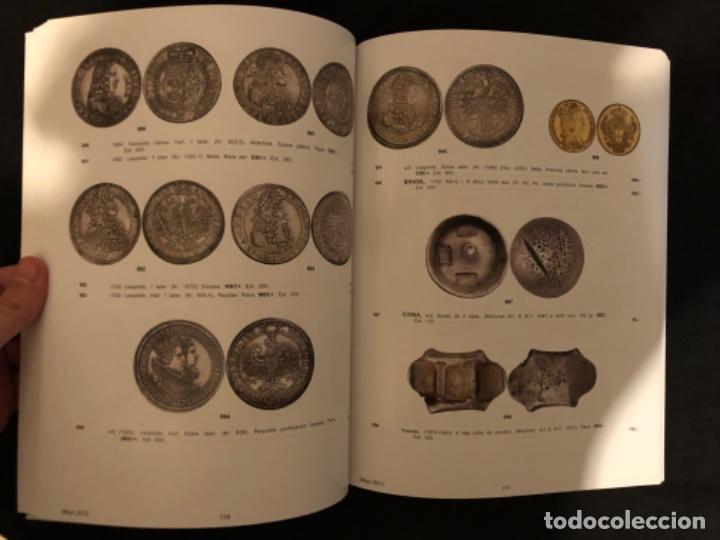 Catálogos y Libros de Monedas: Catálogo subasta numismatica Aureo y Calicó 30 mayo 2012 - Foto 3 - 191301450