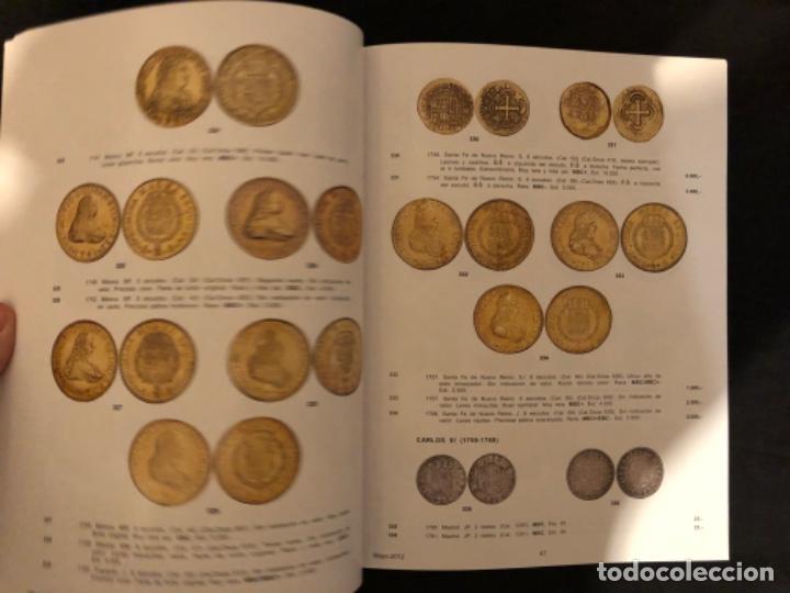 Catálogos y Libros de Monedas: Catálogo subasta numismatica Aureo y Calicó 30 mayo 2012 - Foto 5 - 191301450