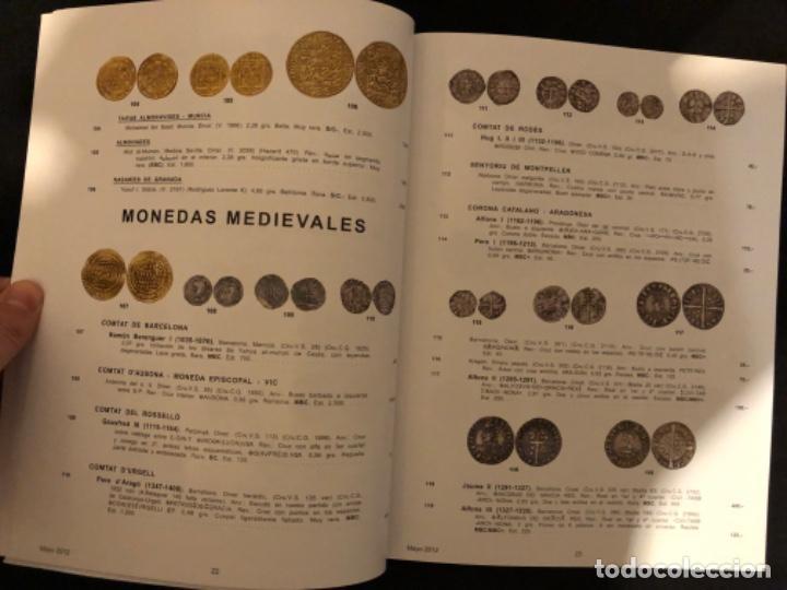 Catálogos y Libros de Monedas: Catálogo subasta numismatica Aureo y Calicó 30 mayo 2012 - Foto 8 - 191301450