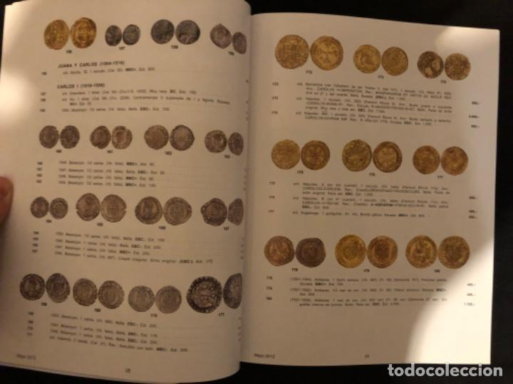 Catálogos y Libros de Monedas: Catálogo subasta numismatica Aureo y Calicó 30 mayo 2012 - Foto 9 - 191301450