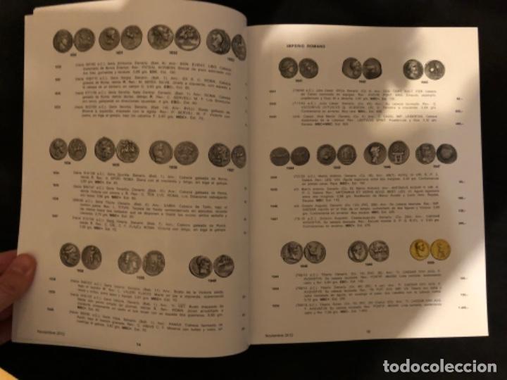 Catálogos y Libros de Monedas: Catálogo subasta numismatica Aureo y Calicó de 29 noviembre 2012 - Foto 2 - 191303098