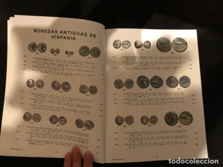 Catálogos y Libros de Monedas: Catálogo subasta numismatica Aureo y Calicó de 29 noviembre 2012 - Foto 4 - 191303098