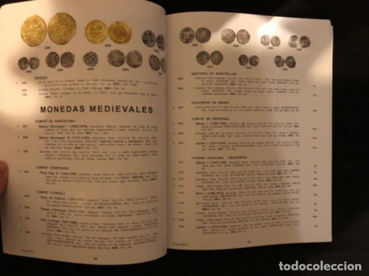 Catálogos y Libros de Monedas: Catálogo subasta numismatica Aureo y Calicó 31 enero 2013. Muy ilustrado - Foto 2 - 191303778