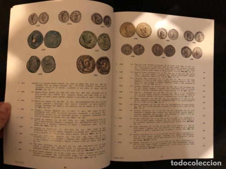 Catálogos y Libros de Monedas: Catálogo subasta numismatica Aureo y Calicó 31 enero 2013. Muy ilustrado - Foto 3 - 191303778