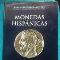Catálogos y Libros de Monedas: MONEDAS HISPANICAS - RAH II 1.1 AÑO 2000-PERE PAU RIPOLLÈS Y JUAN MANUEL ABASCAL- BUENA CONSERVACION. Lote 191668088