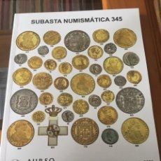 Catálogos y Libros de Monedas: CATÁLOGO ÁUREO CALICÓ SUBASTA 13-02-2020.. Lote 191671650
