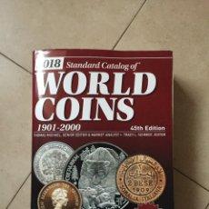 Catalogues et Livres de Monnaies: STANDARD CATALOG WORLD COINS - CATALOGO MONEDAS DEL MUNDO - 1901-2000 - (ONZA ORO DURO PLATA ALBUM). Lote 192254131