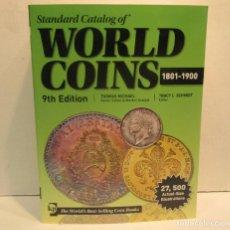 Catálogos y Libros de Monedas: LIBRO STANDARD CATALOG OF WORLD COINS CATALOGO MONEDAS -ALBUM ONZA DURO PLATA ORO PESETAS COLECCION. Lote 218840331