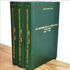 Catalogues et Livres de Monnaies: SUBASTA : DIFÍCIL ASÍ MONEDES DE COOPERATIVES. Lote 192854545