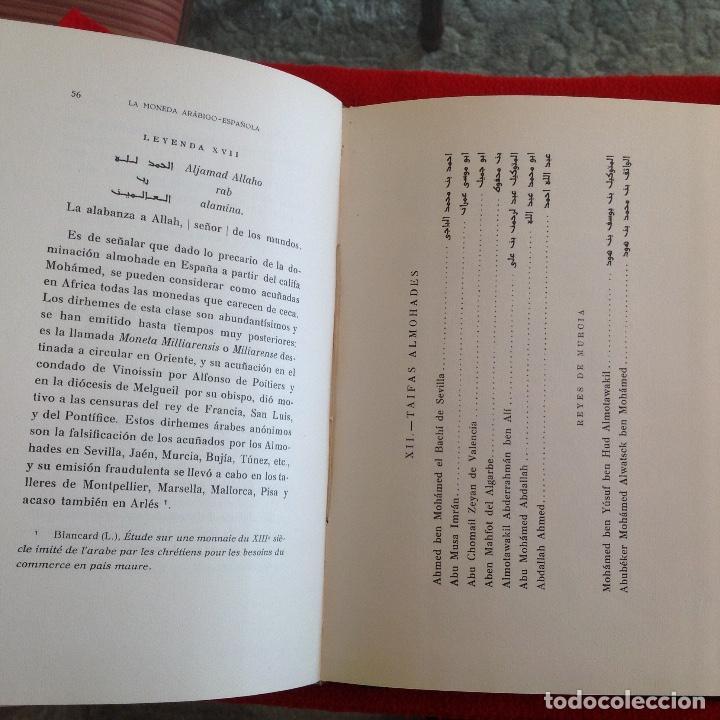 Catálogos y Libros de Monedas: La moneda arabigo española, compendio de numismatica musulmana, de Casto María del Rivero, 1933 - Foto 7 - 193616682