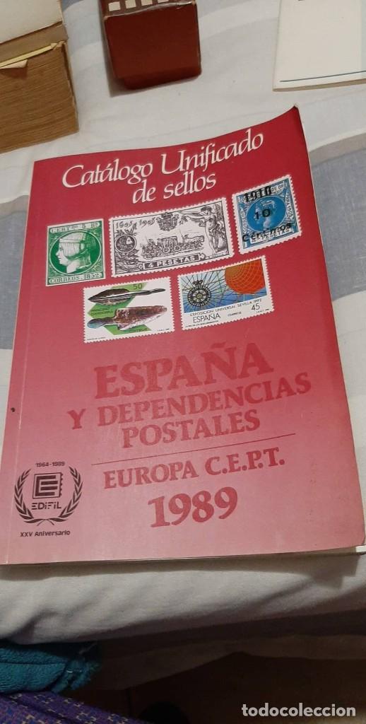 CATALOGO SELLOS ESPAÑA 1989 (Numismática - Catálogos y Libros)