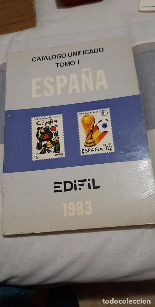 CATALOGO UNIFICADO 1 EDIFIL 1983 (Numismática - Catálogos y Libros)