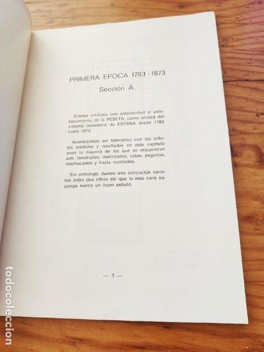 Catálogos y Libros de Monedas: BILLETES ESPAÑOLES 1783 - 1977- XII EDC.-1977/78.-JOSÉ A. VICENTI. - Foto 2 - 194285595