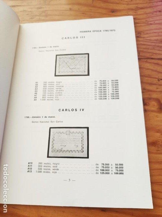 Catálogos y Libros de Monedas: BILLETES ESPAÑOLES 1783 - 1977- XII EDC.-1977/78.-JOSÉ A. VICENTI. - Foto 6 - 194285595