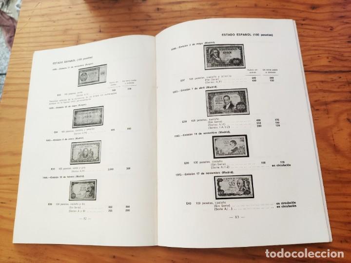 Catálogos y Libros de Monedas: BILLETES ESPAÑOLES 1783 - 1977- XII EDC.-1977/78.-JOSÉ A. VICENTI. - Foto 7 - 194285595