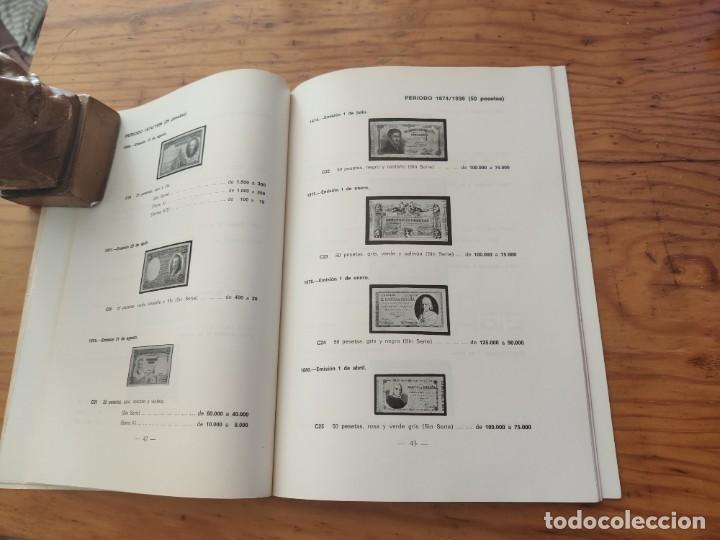 Catálogos y Libros de Monedas: BILLETES ESPAÑOLES 1783 - 1977- XII EDC.-1977/78.-JOSÉ A. VICENTI. - Foto 8 - 194285595