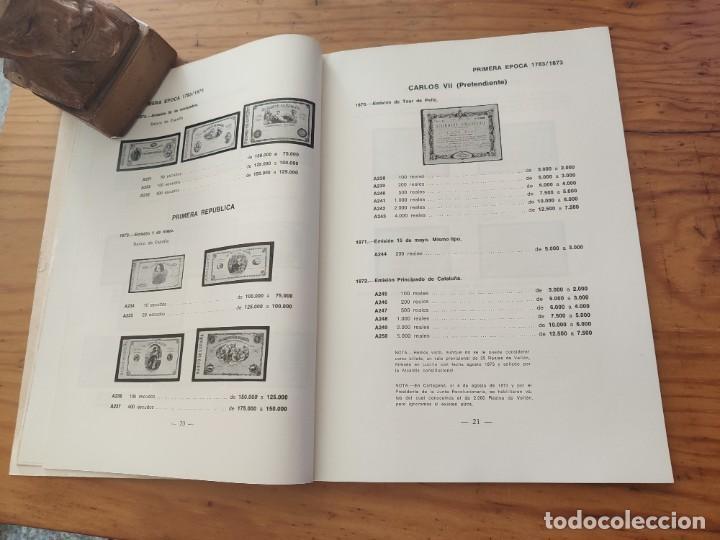 Catálogos y Libros de Monedas: BILLETES ESPAÑOLES 1783 - 1977- XII EDC.-1977/78.-JOSÉ A. VICENTI. - Foto 9 - 194285595