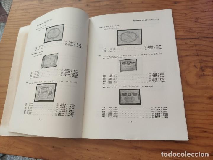 Catálogos y Libros de Monedas: BILLETES ESPAÑOLES 1783 - 1977- XII EDC.-1977/78.-JOSÉ A. VICENTI. - Foto 10 - 194285595