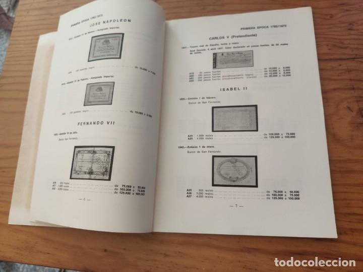 Catálogos y Libros de Monedas: BILLETES ESPAÑOLES 1783 - 1977- XII EDC.-1977/78.-JOSÉ A. VICENTI. - Foto 11 - 194285595