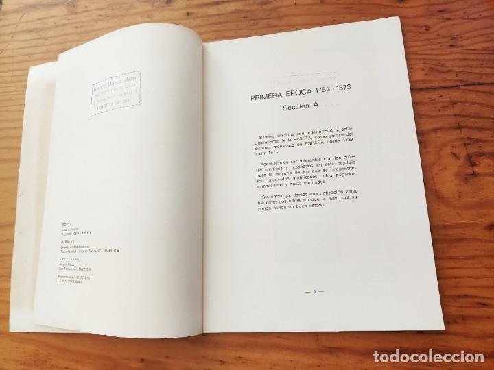 Catálogos y Libros de Monedas: BILLETES ESPAÑOLES 1783 - 1977- XII EDC.-1977/78.-JOSÉ A. VICENTI. - Foto 12 - 194285595