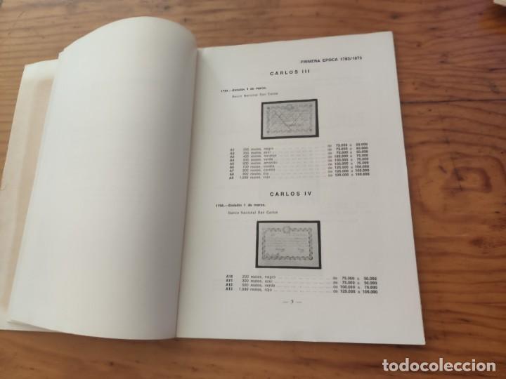 Catálogos y Libros de Monedas: BILLETES ESPAÑOLES 1783 - 1977- XII EDC.-1977/78.-JOSÉ A. VICENTI. - Foto 13 - 194285595
