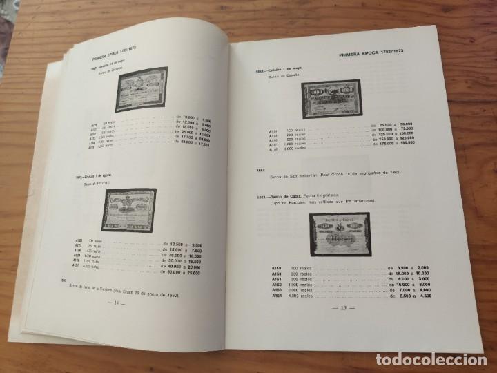 Catálogos y Libros de Monedas: BILLETES ESPAÑOLES 1783 - 1977- XII EDC.-1977/78.-JOSÉ A. VICENTI. - Foto 14 - 194285595