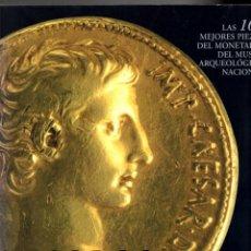 Catálogos y Libros de Monedas: TESOROS DEL GABINETE NUMISMÁTICO. LAS 100 MEJORES PIEZAS DEL MONETARIO DEL MAR. 2003. Lote 194716943