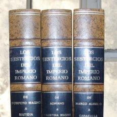 Catálogos y Libros de Monedas: LOS SESTERCIOS DEL IMPERIO ROMANO - J.R. CAYON. Lote 194978372