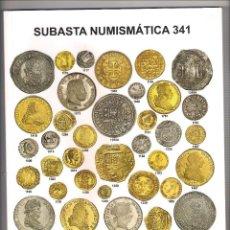 Catálogos y Libros de Monedas: CATÁLOGO SUBASTA NUMISMÁTICA 341 DE AUREO & CALICÓ DEL 11 DE DICIEMBRE DE 2019. TAPAS BLANDAS (001). Lote 195302800