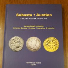 Cataloghi e Libri di Monete: CATÁLOGO SUBASTA NUMISMATICA - CAYÓN - JULIO 2018 - FOTOGRAFÍAS EN INTERIOR.. Lote 195419666