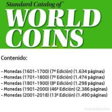 Catálogos y Libros de Monedas: CATALOGO MUNDIAL DE MONEDAS KRAUSE EN DVD. Lote 207414082