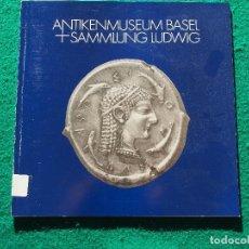 Catálogos y Libros de Monedas: AUSGEWÄHLTE MÜNZEN AUS GROSSGRIECHENLAND UND SIZILIEN - TAMARA VISSER-CHOITZ - ANTIKENMUSEUM BASEL. Lote 196215592