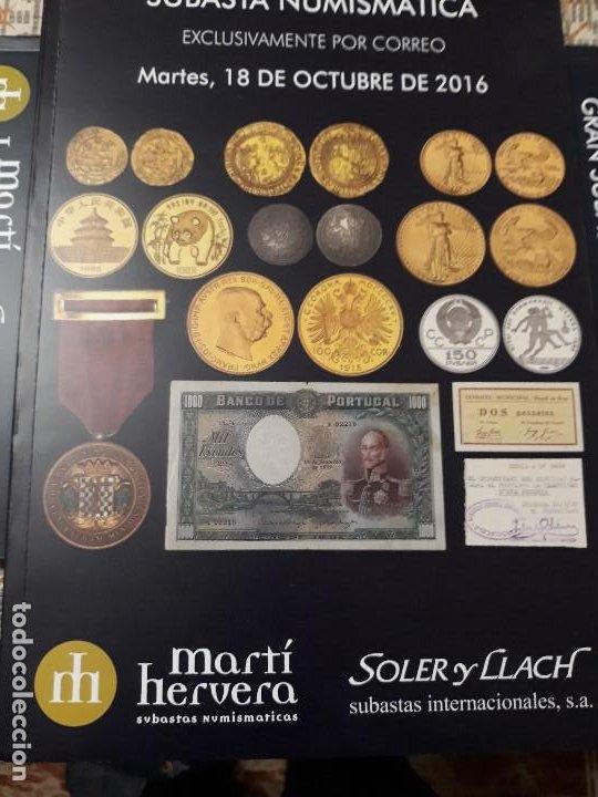 CATÁLOGO DE MONEDAS, BILLETES, MEDALLAS Y CONDECORACIONES (NUEVO) (Numismática - Catálogos y Libros)