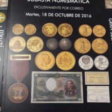Catalogues et Livres de Monnaies: CATÁLOGO DE MONEDAS, BILLETES, MEDALLAS Y CONDECORACIONES (NUEVO). Lote 197130958