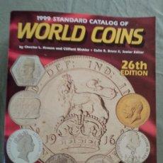 Catálogos y Libros de Monedas: 1999 STANDARD CATALOG OF WORLD COINS, 26TH EDITION. Lote 197741825
