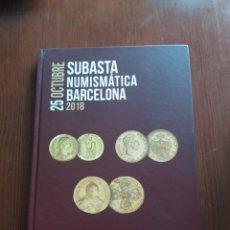Cataloghi e Libri di Monete: CATÁLOGO SUBASTA NUMISMATICA - SOLER Y LLACH / HERVERA - OCTUBRE 2018 - FOTOGRAFÍAS EN DESCRIPCIÓN.. Lote 201233891