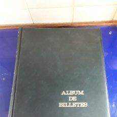 Catálogos y Libros de Monedas: ALBUM PARA BILLETES (VACIO) CON 47 HOJAS DE 4 APARTADOS 33X28CM. Lote 201778207