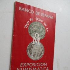 Catálogos y Libros de Monedas: BANCO DE ESPAÑA, BAJO EL SIGNO DE LA OM.-EXPOSICIÓN NUMISMATICA DEL BANCO DE MEXICO-1978-FOLLETO. Lote 203265755