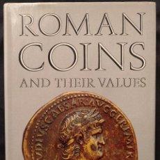 Catálogos y Libros de Monedas: ROMAN COINS AND THEIR VALUES. DAVID R. SEAR. SEABY'S NUMISMATIC PUBLICATIONS. REVISED EDITION. 1970.. Lote 203295957