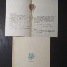 Catálogos y Libros de Monedas: ANE - GACETA NUMISMATICA Nº 14 SEPTIEMBRE-1967. Lote 205202518