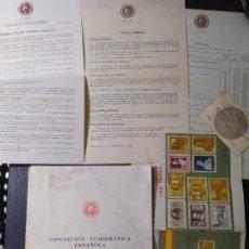 Catálogos y Libros de Monedas: ASOCIACION NUMISMATICA CATALOGO REDACTADO 1965. Lote 205202897