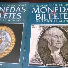 Catálogos y Libros de Monedas: COLECCIONABLE MONEDAS Y BILLETES DEL MUNDO. Lote 205749528
