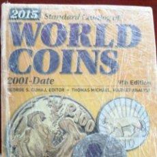 Catálogos y Libros de Monedas: WORLD COINS 2001-2015 -9º EDICION. Lote 205778951