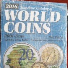 Catálogos y Libros de Monedas: WORLD COINS 2001 - 2016 10º EDICION. Lote 205784433