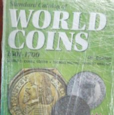 Catálogos y Libros de Monedas: WORLD COINS 1601 - 1700 6º EDICION. Lote 205791171