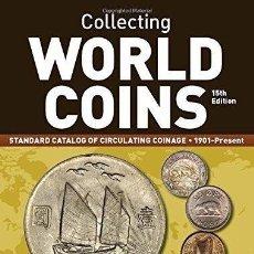 """Catálogos y Libros de Monedas: WORLD COINS 1901-PRESENT 15º EDICION """"PUBLICADO EN 2015"""". Lote 205796518"""