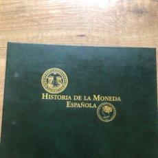 Catálogos y Libros de Monedas: HISTORIA DE LA MONEDA ESPAÑOLA TEXTO DEPARTAMENTO DOCUMENTACION DE LA FNMT-RCM. Lote 206227957