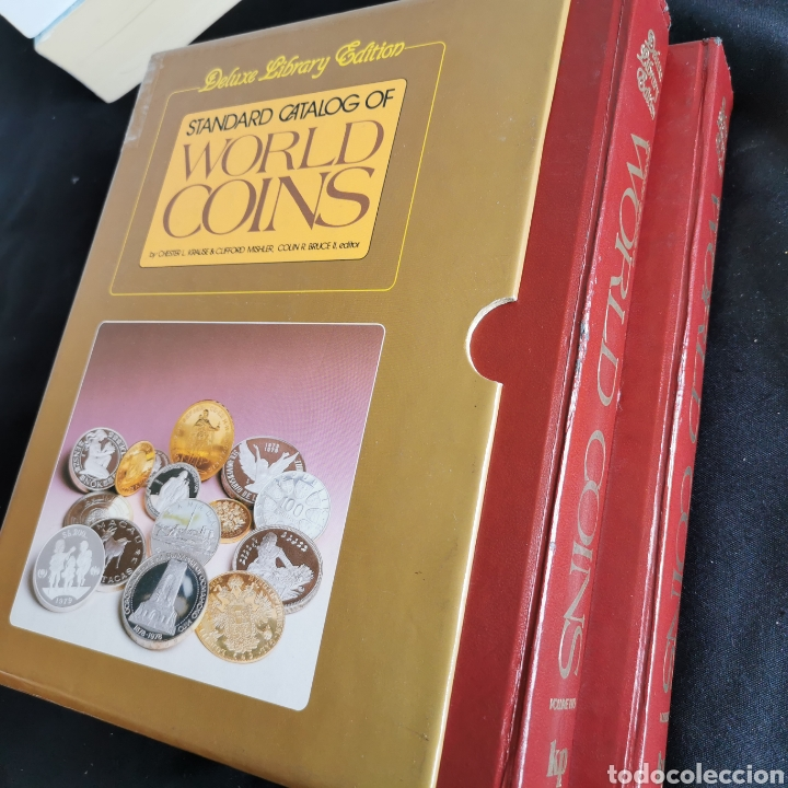 EXCLUSIVO! EXCELENTE ESTADO. STANDARD CATALOG OF WORLD COINS EDICIÓN DELUXE. VER DESCRIPCIÓN (Numismática - Catálogos y Libros)