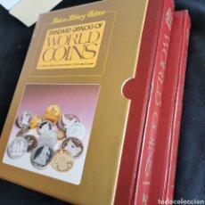 Catálogos e Livros de Moedas: EXCLUSIVO! EXCELENTE ESTADO. STANDARD CATALOG OF WORLD COINS EDICIÓN DELUXE. VER DESCRIPCIÓN. Lote 206996397
